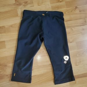 Lucy Crops Reflective Design Black S
